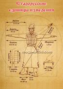 Постер старорусские единицы измерения
