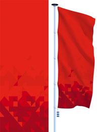 флаги расцвечивания в концепции 2018 к 9 мая